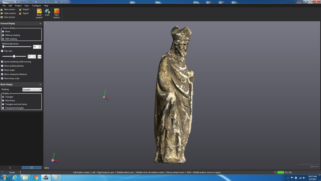 Professional museum 3D scanning services - UK