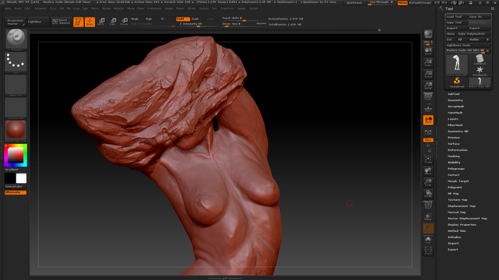 3D scan of sculpture - UK - Superscan 3D