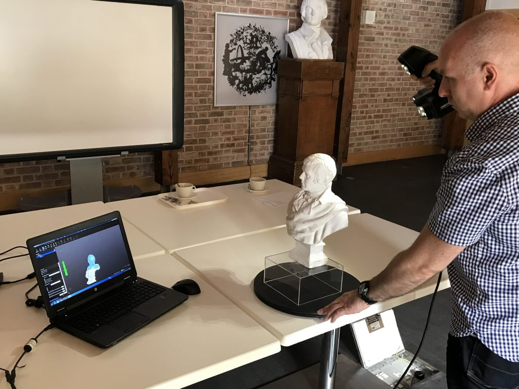 3D scanning for the National Trust