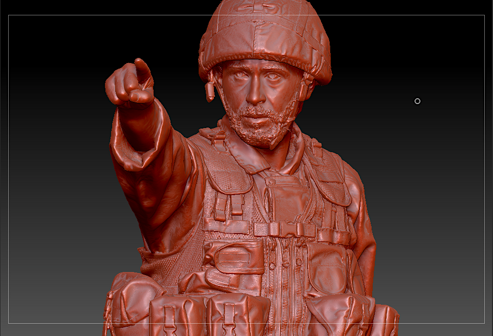 3D Scan of Solider